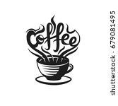 coffee logo for coffee house or ... | Shutterstock .eps vector #679081495