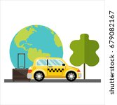 travel and adventure template ... | Shutterstock . vector #679082167