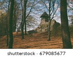 medieval castle   ruins of the... | Shutterstock . vector #679085677