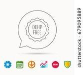 dehp free icon. non toxic...