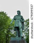 rollon monument  alesund ... | Shutterstock . vector #679099537