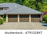 garage  garage doors and...   Shutterstock . vector #679131847
