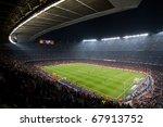 barcelona   december 13  nou... | Shutterstock . vector #67913752