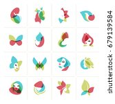 Set Of Flat Design Icons For ...