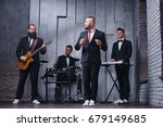 music band and fashion. ... | Shutterstock . vector #679149685