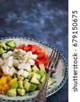 fresh delicious tomato  bell... | Shutterstock . vector #679150675