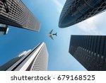 tokyo skyscrapers buildings and ... | Shutterstock . vector #679168525