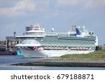ijmuiden  the netherlands ... | Shutterstock . vector #679188871