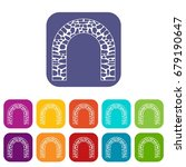 arch icons set vector... | Shutterstock .eps vector #679190647