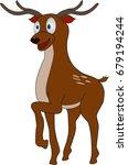 cartoon deer | Shutterstock .eps vector #679194244