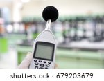measuring the noise in... | Shutterstock . vector #679203679
