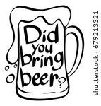 word expression in beer mug... | Shutterstock .eps vector #679213321