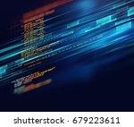 programming code abstract... | Shutterstock . vector #679223611