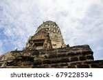 amcient temple show the... | Shutterstock . vector #679228534