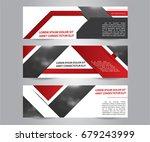 set of modern business banner... | Shutterstock .eps vector #679243999
