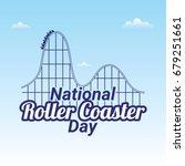 national roller coaster day | Shutterstock .eps vector #679251661