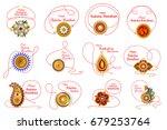 easy to edit vector... | Shutterstock .eps vector #679253764