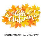 vector banner with hand... | Shutterstock .eps vector #679260199