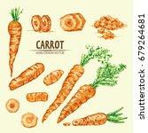 digital vector detailed line... | Shutterstock .eps vector #679264681