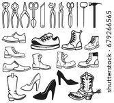 shoe repair design elements....