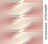 abstract horizontal stripe... | Shutterstock .eps vector #679274689