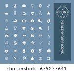 health care icon set vector | Shutterstock .eps vector #679277641