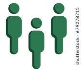 vector green social icon  ... | Shutterstock .eps vector #679278715