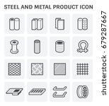 vector icon of steel pipe and... | Shutterstock .eps vector #679287667