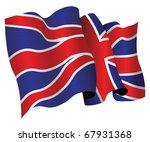 british flag | Shutterstock .eps vector #67931368