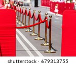 way to success on the red... | Shutterstock . vector #679313755