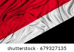 3d flag of sealand principality ... | Shutterstock . vector #679327135
