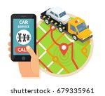 evacuation service transport.... | Shutterstock .eps vector #679335961