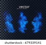 vector illustration of smoky... | Shutterstock .eps vector #679339141