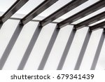 wide flange steel and its long... | Shutterstock . vector #679341439