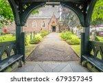 Wooden Porch Entrance To Saint...
