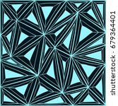 background with patterns of... | Shutterstock .eps vector #679364401