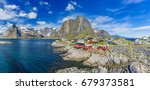 Panorama Of Reine On The...