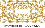 horizontal decorative... | Shutterstock . vector #679378207