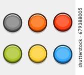 button set | Shutterstock .eps vector #679388005