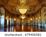 queluz  portugal   july 1  2017 ... | Shutterstock . vector #679406581
