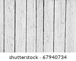The Old Weathered White Wooden...