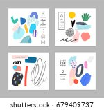 collection of creative... | Shutterstock .eps vector #679409737