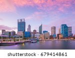Downtown Perth Skyline In...
