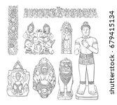 Angkor Art Elements  Decoratio...