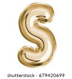 s letter alphabet  font balloon ... | Shutterstock . vector #679420699