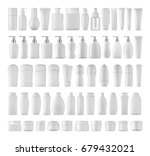 beauty products set. | Shutterstock . vector #679432021