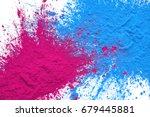 cmyk toner mixed on white... | Shutterstock . vector #679445881