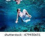 gorgeous female dancing... | Shutterstock . vector #679450651