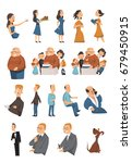 people lifestyle character... | Shutterstock .eps vector #679450915
