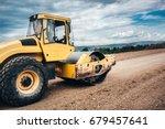 close up details of industrial... | Shutterstock . vector #679457641